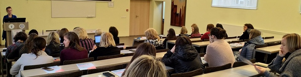 """National Conference """"Woman – Creator of Social Business: The Experience of Hillary Project"""" in Vilnius, Lithuania"""