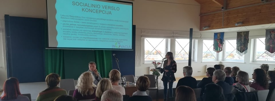 "InTSEnSE Project Dissemination in International Community Forum ""Telšiai-2019"", Lithuania"